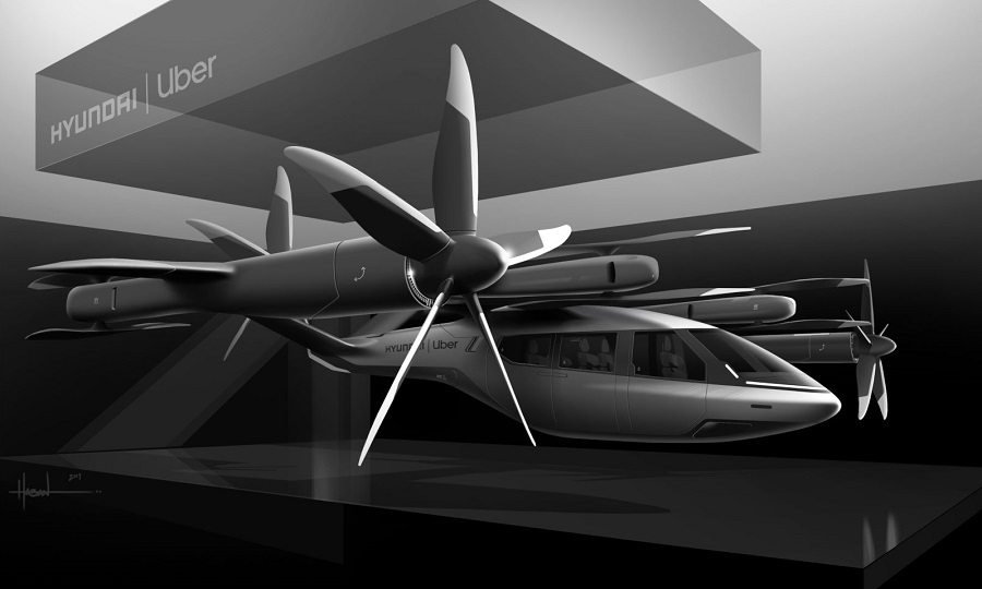 Hyundai flying taxi web